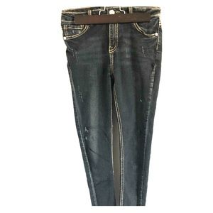 Other - Black distressed girls jeans